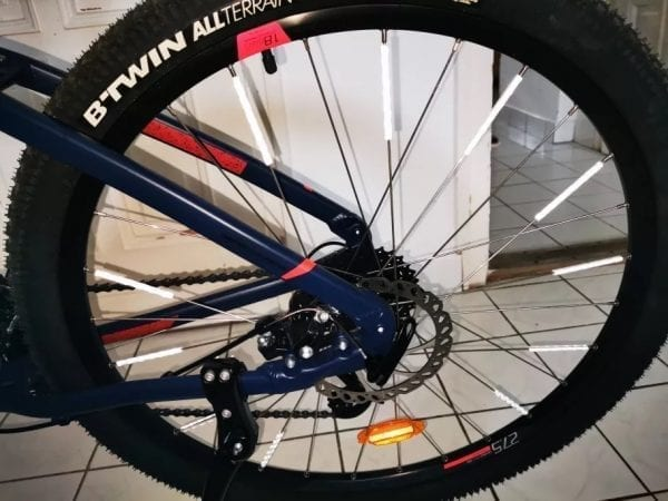 refleks til cykel hjul