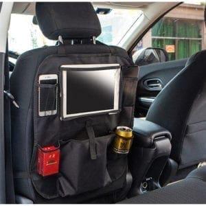 Opbevaring til bilen med Ipad